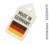 made in germany | Shutterstock .eps vector #322254479