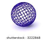 sphere. 3d | Shutterstock . vector #3222868
