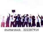 business people new york... | Shutterstock . vector #322287914