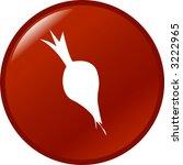 beet button | Shutterstock .eps vector #3222965