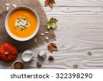 Traditional Pumpkin Soup With...