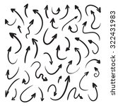 isolated raster hand drawn...   Shutterstock . vector #322431983
