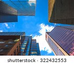 upward 4 building view | Shutterstock . vector #322432553