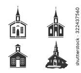 Church Vector Icon. Flat Desig...