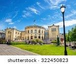 stortinget  parliament of... | Shutterstock . vector #322450823