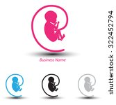 logo baby arobase | Shutterstock .eps vector #322452794