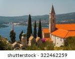 Monastery Over Orebic  Croatia