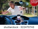 An Irresponsible Texting Driver ...