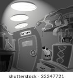 lab room | Shutterstock . vector #32247721