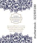 vintage delicate invitation... | Shutterstock .eps vector #322505180