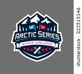arctic sports winter... | Shutterstock .eps vector #322515146