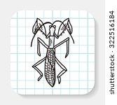 manti doodle | Shutterstock . vector #322516184