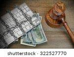 cyber crime concept  judges... | Shutterstock . vector #322527770