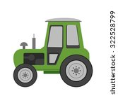 tractor  agriculture  field... | Shutterstock .eps vector #322528799