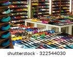 female shoes  at  apparel shop   Shutterstock . vector #322544030