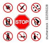 stop sign. do not smoke.  not...