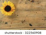 Rustic Wooden Background With ...