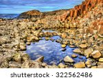 view of the giant's causeway  a ... | Shutterstock . vector #322562486