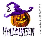 halloween border for design | Shutterstock .eps vector #322601810