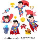 superman  superstar | Shutterstock .eps vector #322620968