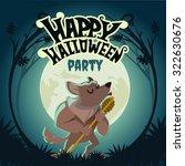 Happy Halloween Design Templat...