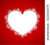 red christmas background | Shutterstock .eps vector #322631474