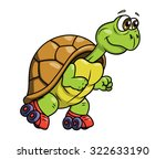 illustration of the smiling... | Shutterstock .eps vector #322633190