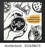 hand sketched illustration of... | Shutterstock .eps vector #322648673