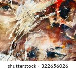 Eyes  Abstract Oil Painting ...
