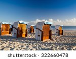 morning on the beach in binz ... | Shutterstock . vector #322660478