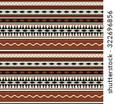 tribal  seamless pattern design | Shutterstock .eps vector #322696856
