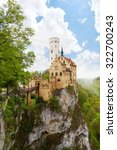 schloss lichtenstein castle on... | Shutterstock . vector #322700243
