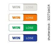 website button set flat design | Shutterstock .eps vector #322716614