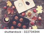 Cozy Autumn Breakfast  ...