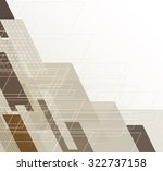 abstract tech background.... | Shutterstock .eps vector #322737158