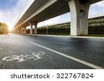 the viaduct of the city   Shutterstock . vector #322767824