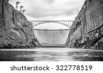 Glen Canyon Dam On Colorado...