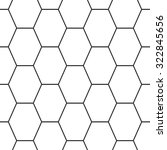 hex lines grid texture.... | Shutterstock .eps vector #322845656