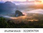 beautiful scenary in the north... | Shutterstock . vector #322854704