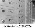 mailbox with number and key...   Shutterstock . vector #322863734