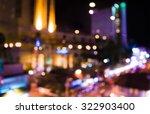 image of blurred bokeh... | Shutterstock . vector #322903400