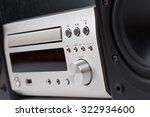hi fi stereo system musical... | Shutterstock . vector #322934600