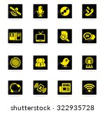 communication icons | Shutterstock .eps vector #322935728