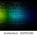 dark green blue light abstract... | Shutterstock . vector #322952180