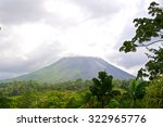 Costa Rica Tropical Volcano