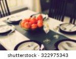 kitchen restaurant background... | Shutterstock . vector #322975343