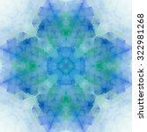Abstract Kaleidoscopic Pattern...