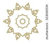 mandala. hand drawn ethnic... | Shutterstock .eps vector #323030534