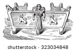 stove  vintage engraved... | Shutterstock .eps vector #323034848