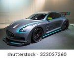 frankfurt  germany   sep 16 ... | Shutterstock . vector #323037260